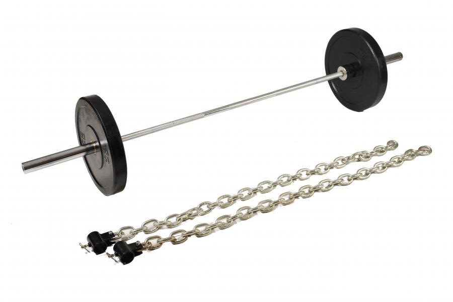 Chrommantel-Ketten - 45 lbs/ 20,45kg = 2 x 10 Kg