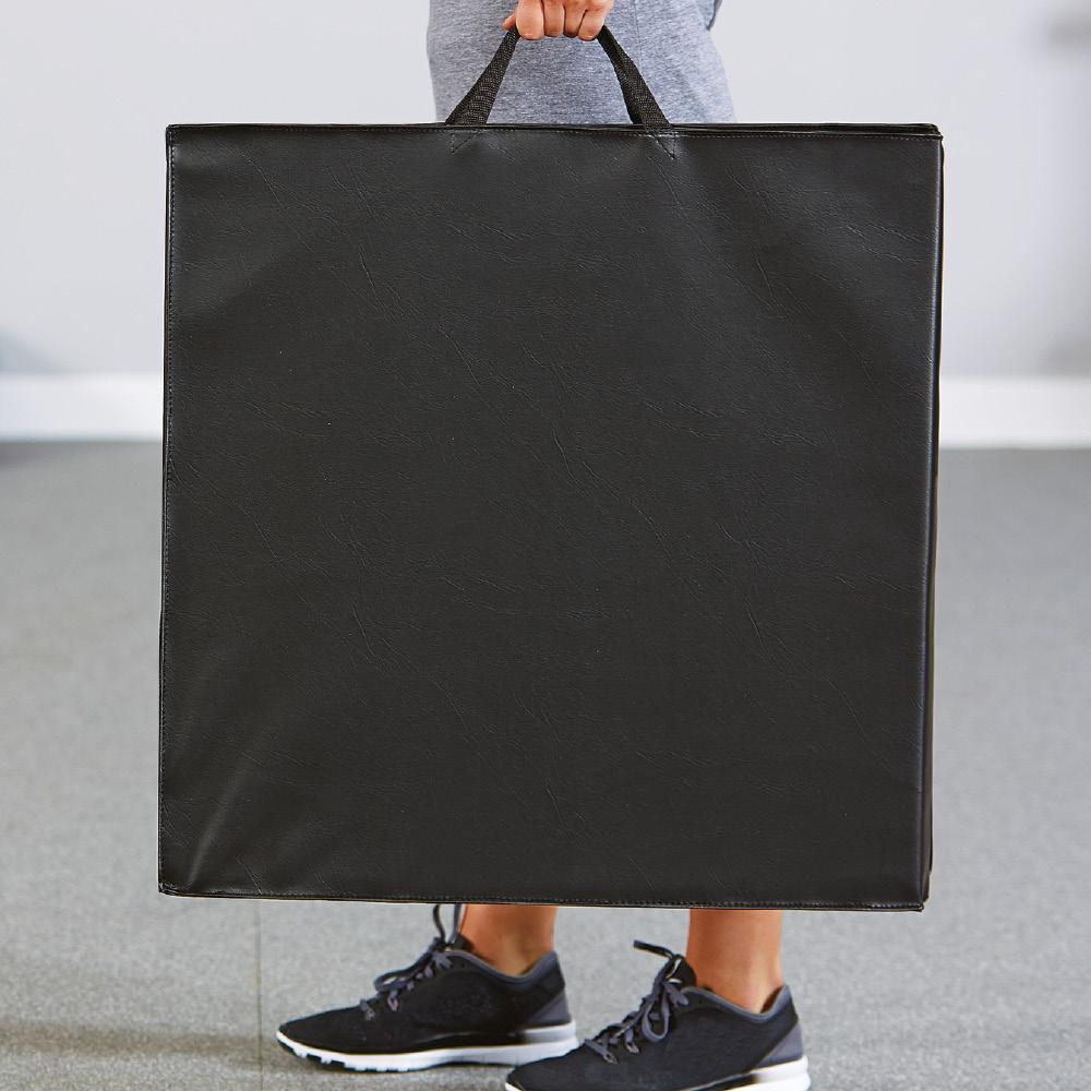 Gymnastikmatte faltbar mit Griffen 240 x 60 cm