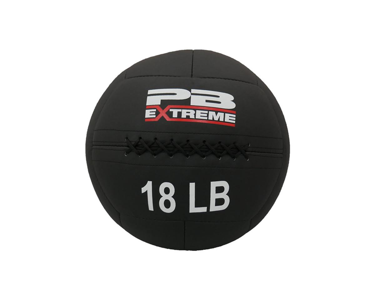PB Extreme Soft Elite Medizinbälle - schwarz 18 lbs (8,2kg)