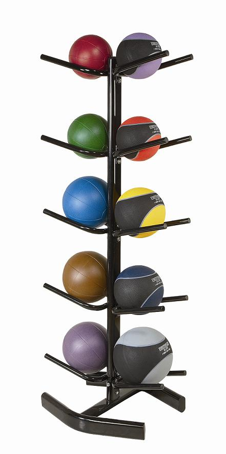 PB Extreme Medizinball-Regal - 10 Bälle