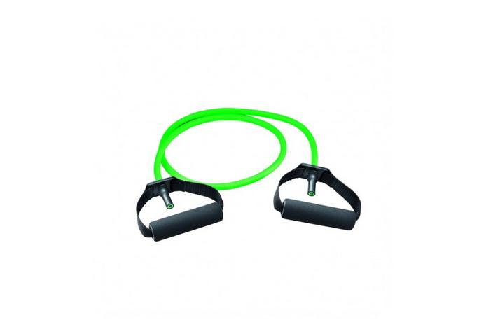 Gymtube grün mit Schaumpolster Griffen (grün/medium)