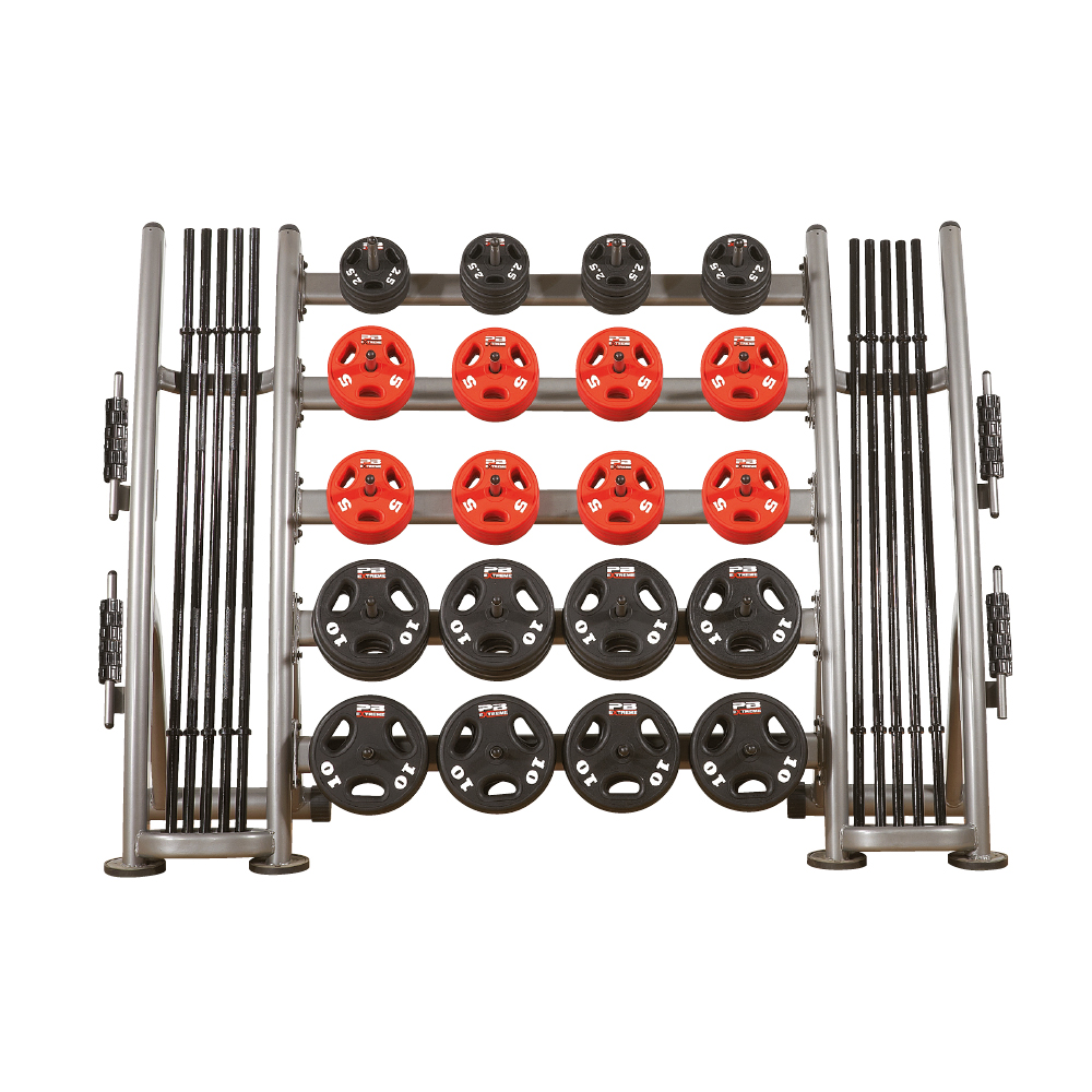 PB Extreme Urethane Group - 10-Pack Set mit Rack (kg)