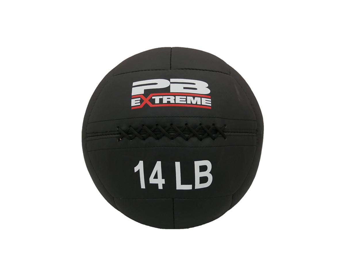 PB Extreme Soft Elite Medizinbälle - schwarz 14 lbs (6,4 kg)