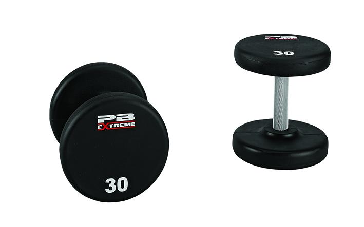 PB Extreme Urethane-Hantelsets - 32,5 kg (Paar)