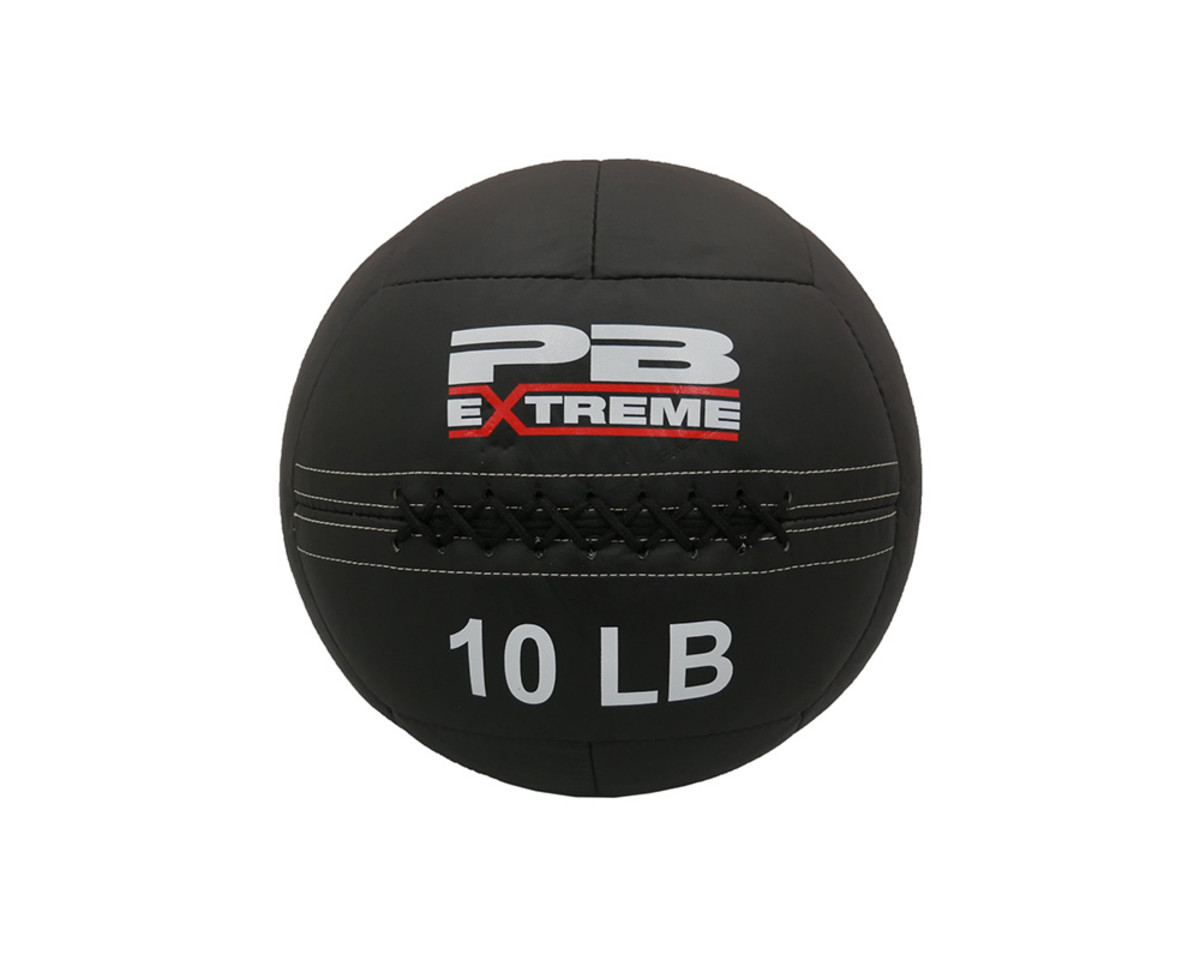 PB Extreme Soft Elite Medizinbälle - schwarz 10 lbs (4,5kg)