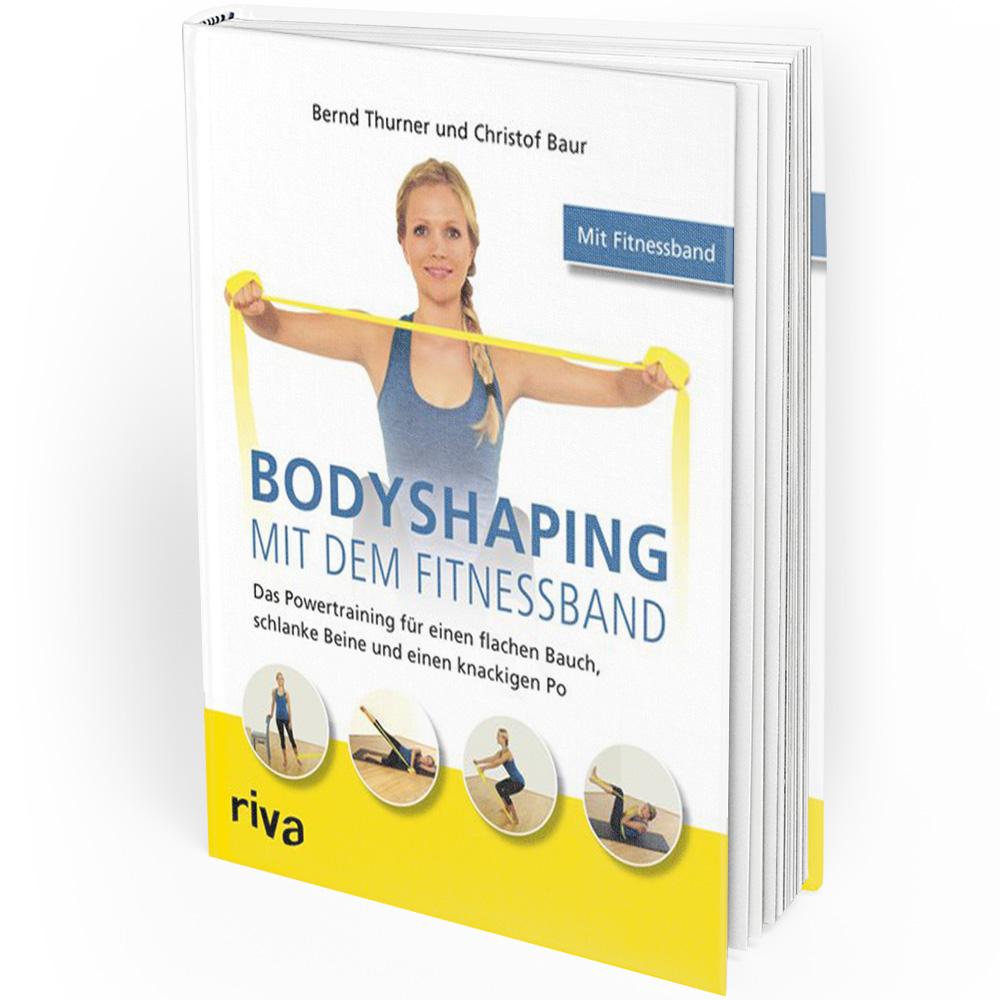 Bodyshaping mit dem Fitnessband (Buch) Mängelexemplar