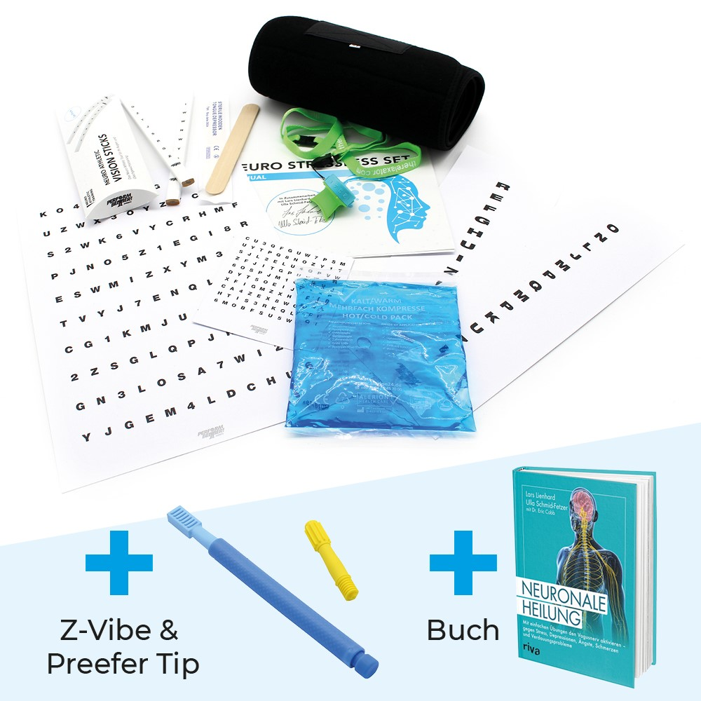 Neuro Stressless Set + Buch + Z-Vibe + Preefer Tip (Set)