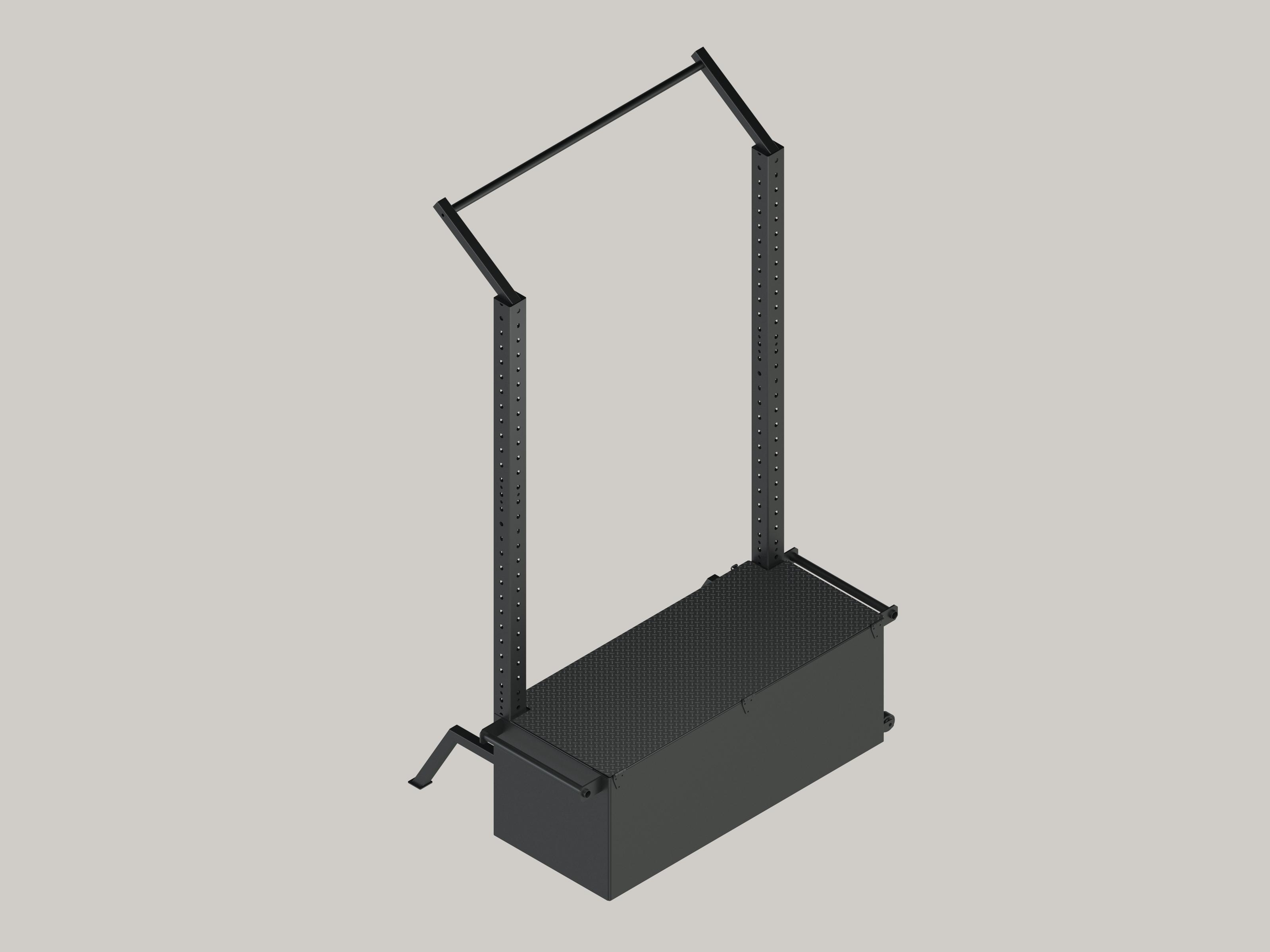 FUNS M - Tactical Box ohne Zubehör anthrazit grau