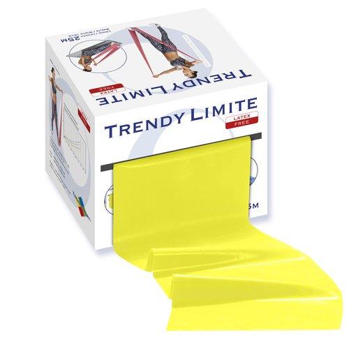 Trendy Limite Band 25m gelb/leicht