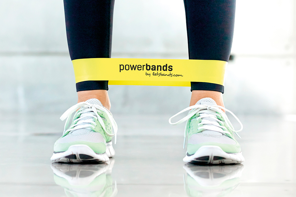 Let's Bands powerband Mini Gelb (leicht)