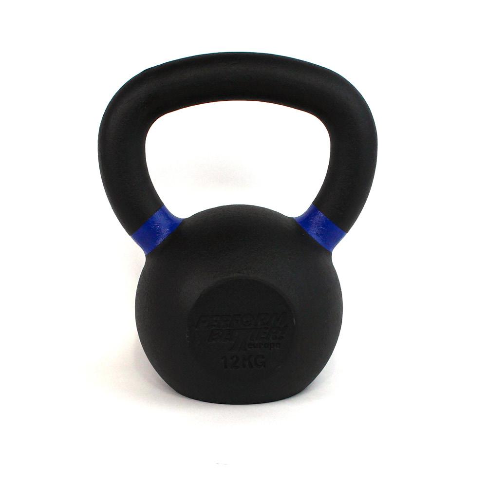 PB Black Kettlebell - 12kg
