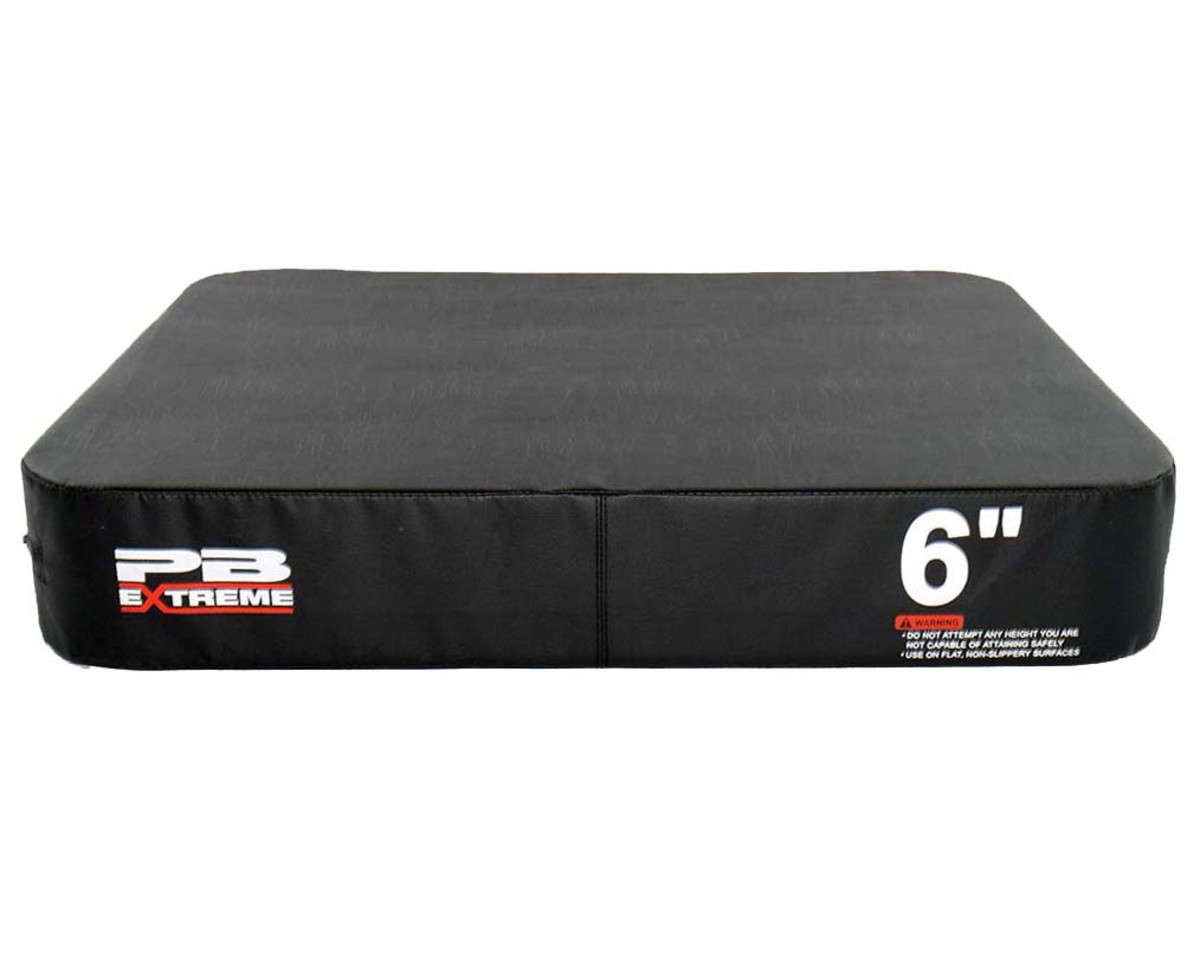 PB Extreme Soft Plyo Box schwarz - 15 cm - einzeln