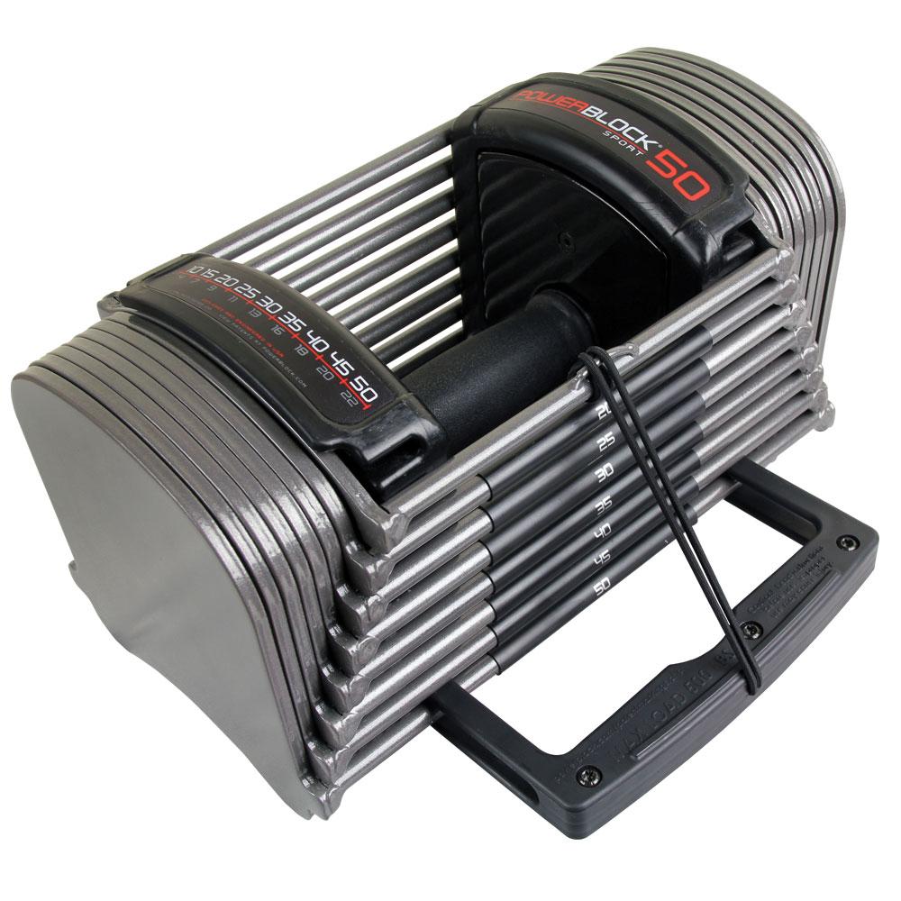 PowerBlock Sport 50 Set 10-50lbs (Paar)