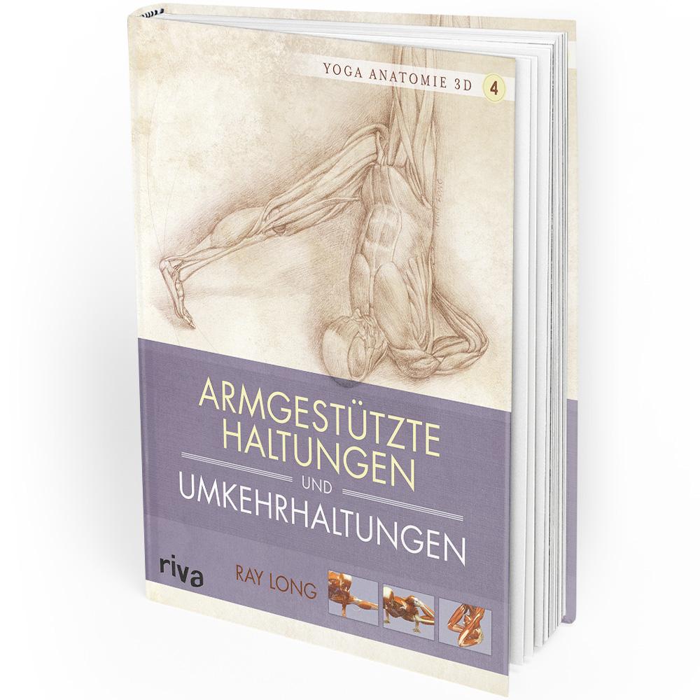 Yoga-Anatomie 3D - 4 - Armgestützte Haltungen und Umkehrhaltungen (Buch) Mängelexemplar