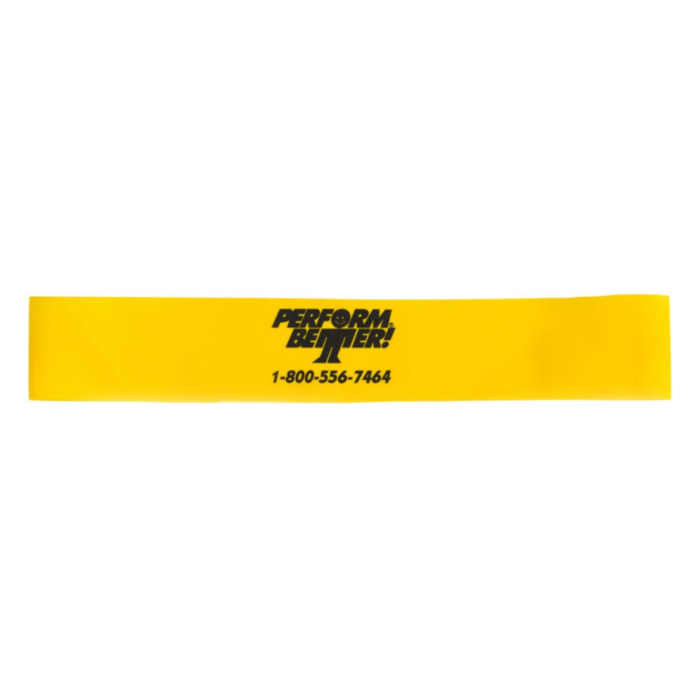Minibands XL - Leicht XL (30 x 5 cm Schlinge) Gelb