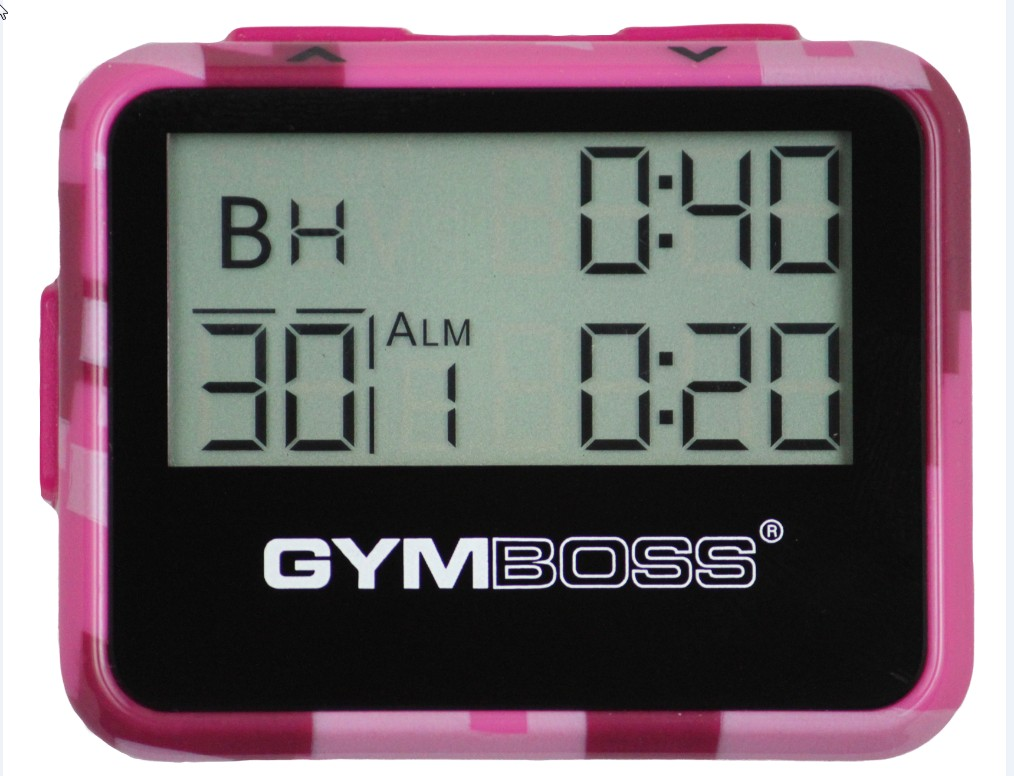Gymboss® Intervall Timer - pink
