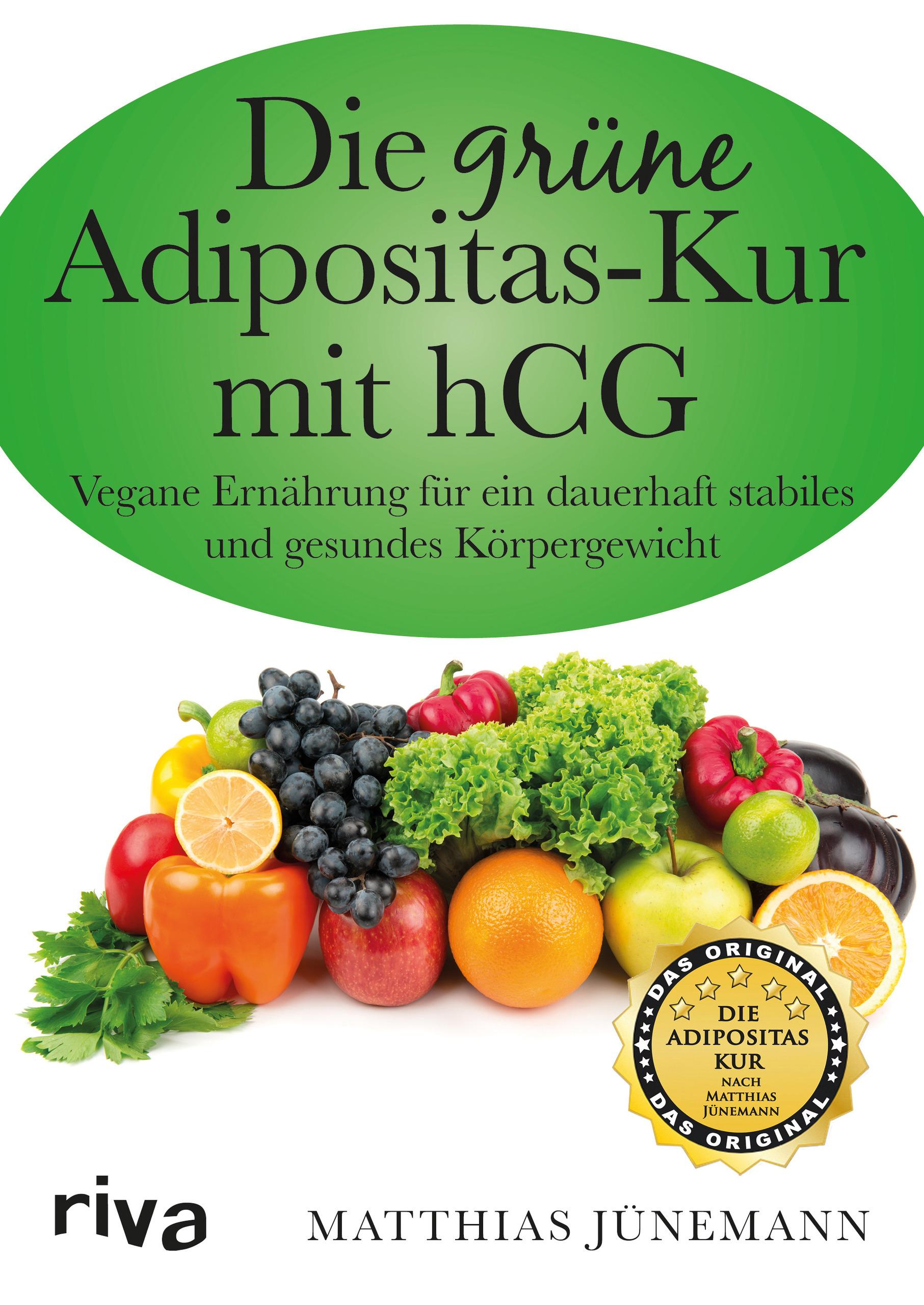 Die grüne Adipositas-Kur mit hCG (Buch)