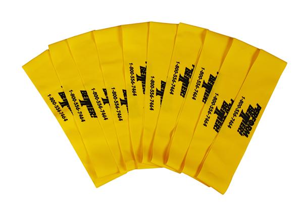 Minibands - 10 x Gelb (leicht)