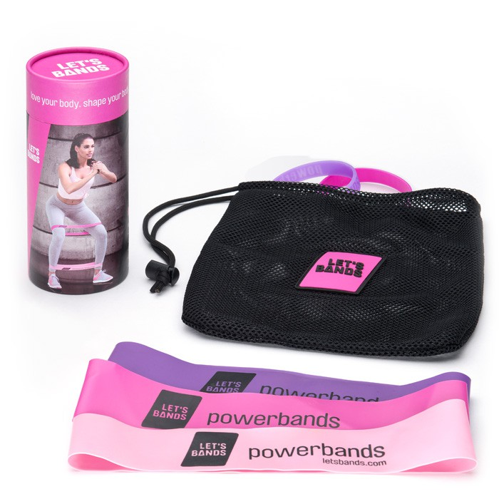 Let's Bands powerbands SET LADY