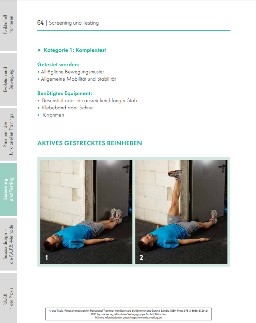 Programmdesign im Functional Training (Buch)