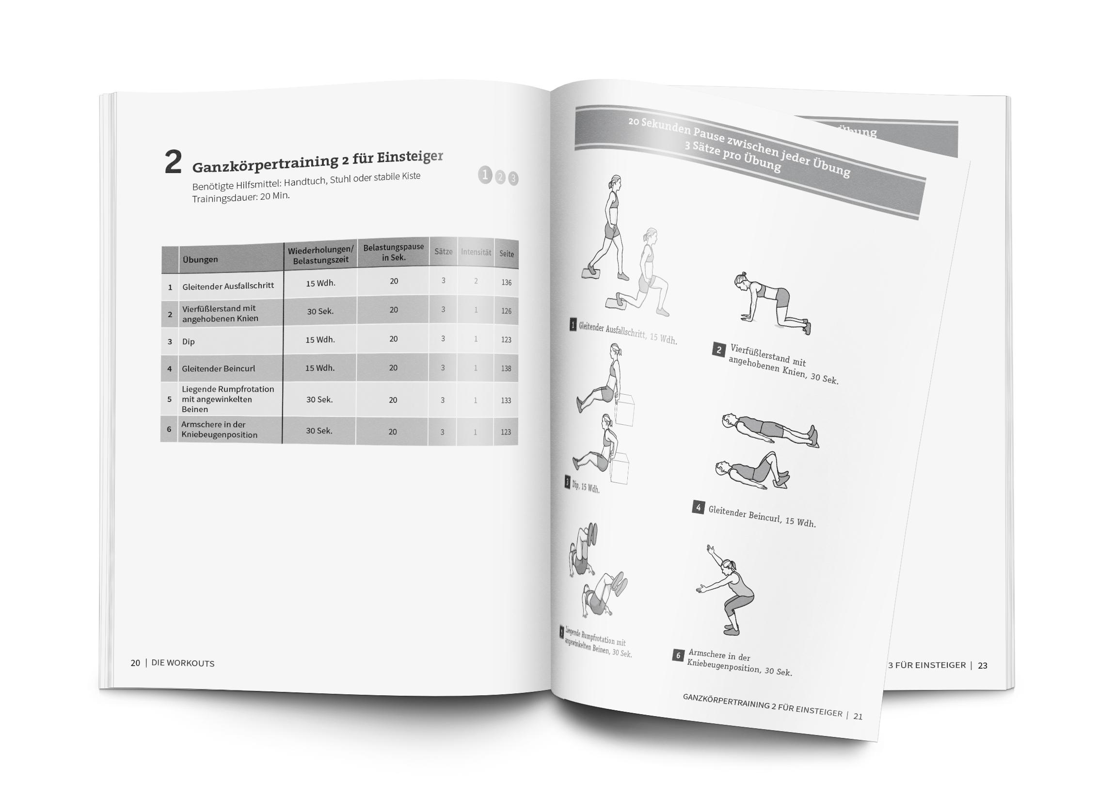 50 Workouts – Bodyweight-Training ohne Geräte (Buch)