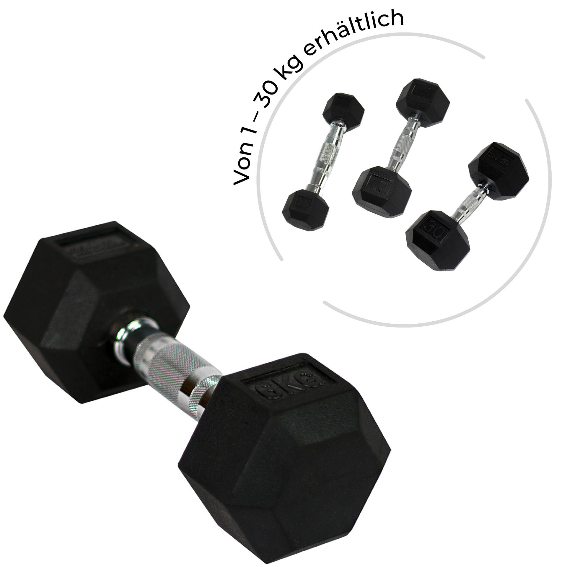 PB Hexhantel - 1 kg (Stck)