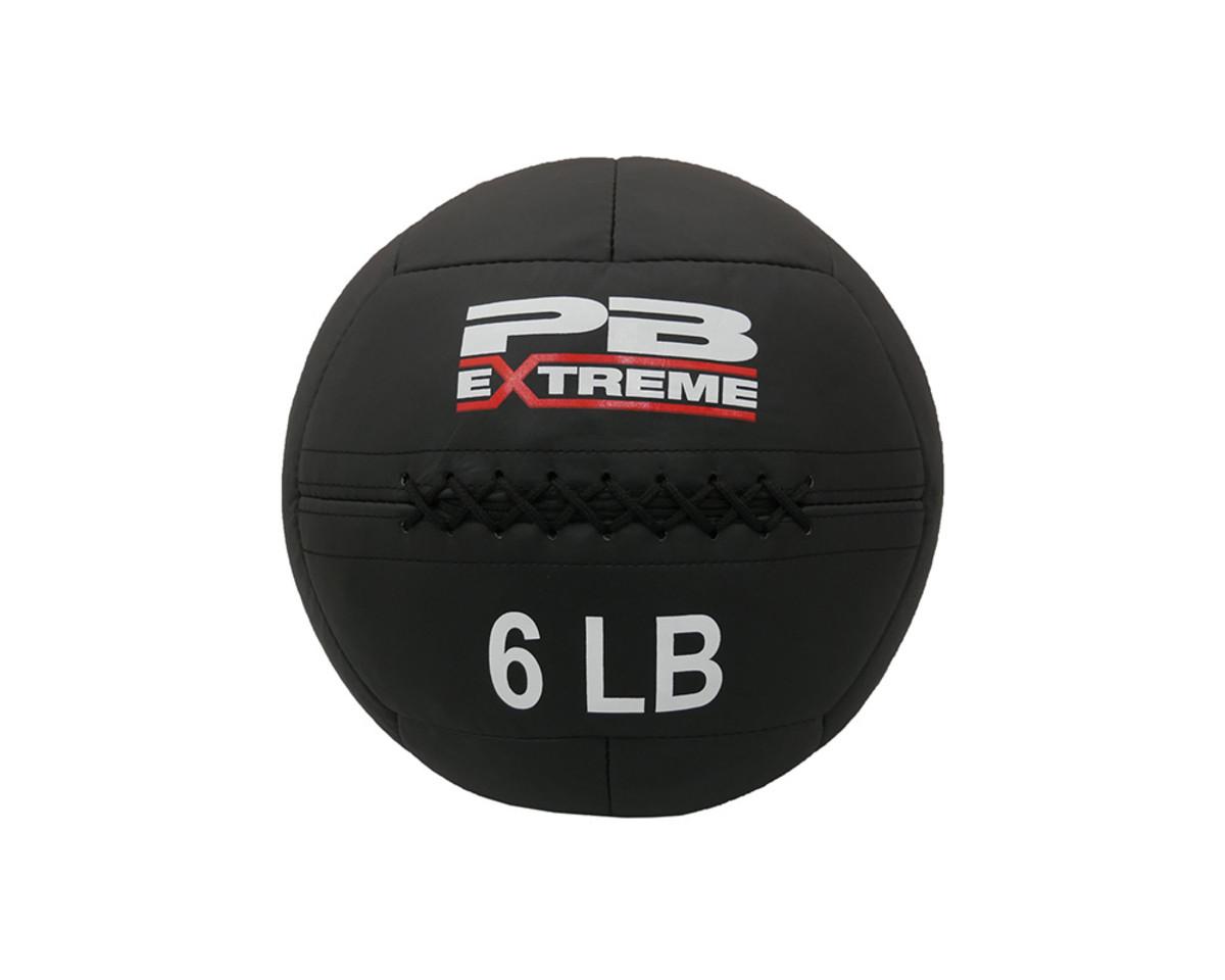 PB Extreme Soft Elite Medizinbälle - schwarz 6 lbs (2,72 kg)