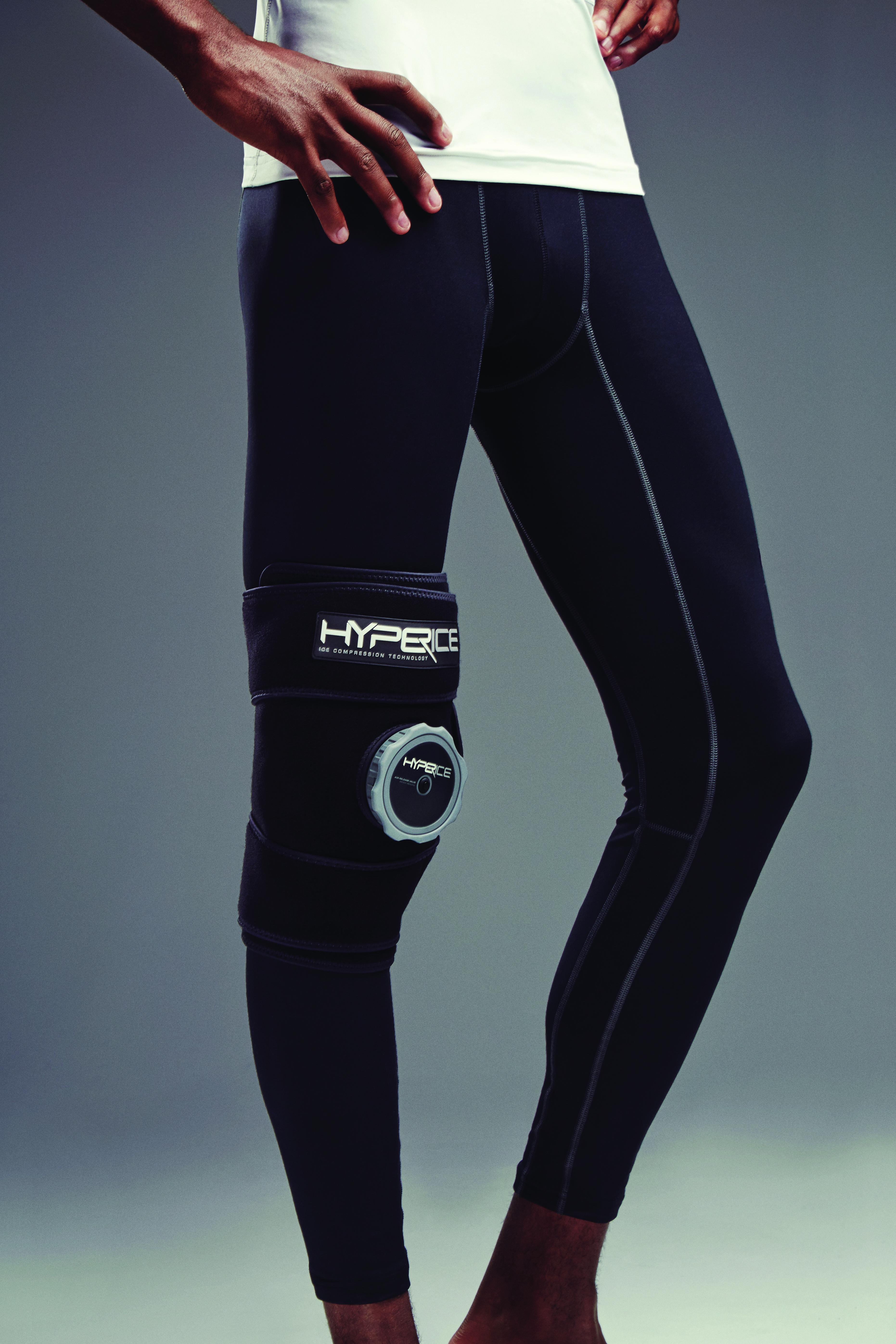 Hyperice - Knie schwarz
