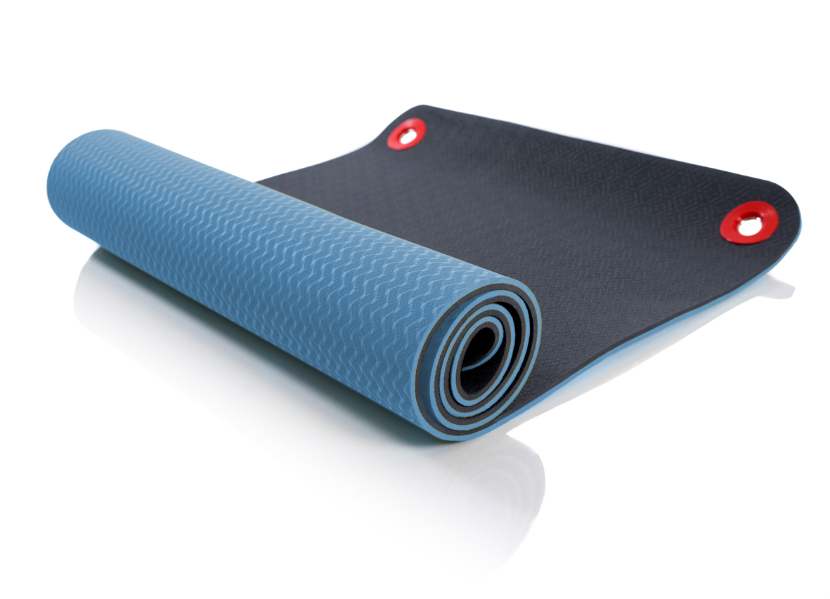 First Place Fitness Mats - Blau 142 x 60 x 0,8 cm