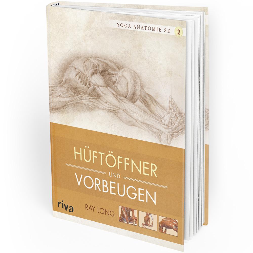 Yoga - Anatomie 3D - 2 - Hüftöffner und Vorbeugen (Buch)